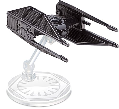 Hot Wheels Star Wars: The Last Jedi Kylo Ren's Tie Silencer Die-Cast Vehicle  (Star Diecast Wars)