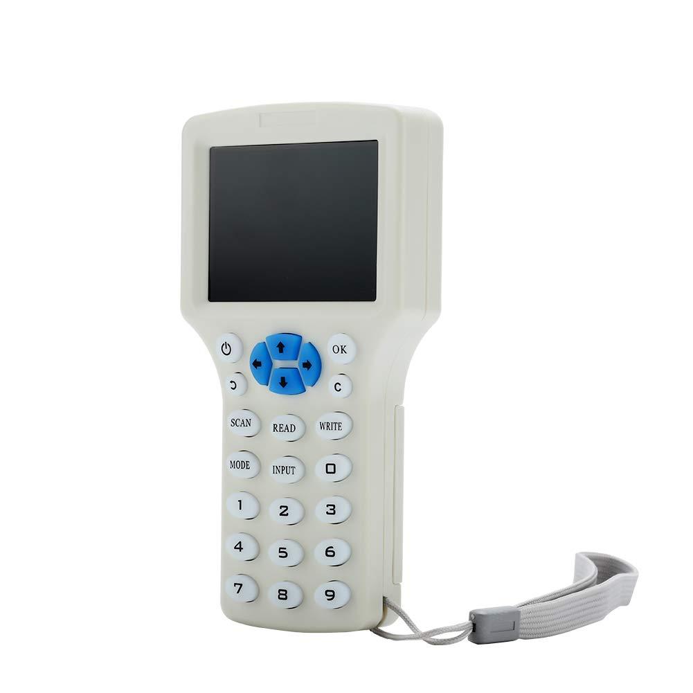 Lector RFID Escritor de mano en inglés multifrecuencia RFID ...