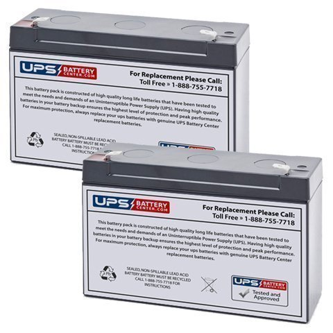 Injusa Grand Legend Baja Truck 6V 12Ah Scooter Replacement Battery ()