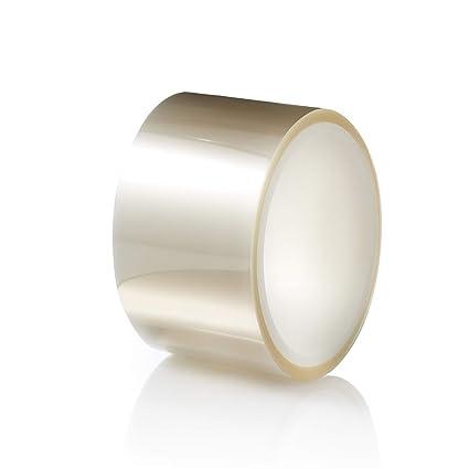 TIERRAFILM Rollo de Acetato Transparente para Repostería y Pasteleria 5cm x 10m 125 micrones – Moldes