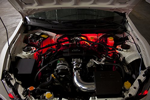 Pontiac G8 Colors (2008-2009 Pontiac G8 Single-Color Standard Engine Bay LED Kit, Red)