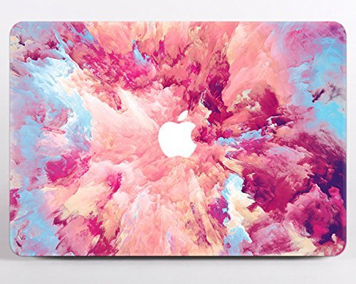 Pink Marble Laptop Hard Cover Case For Macbook Pro 13 Inch Retina 15 Air 11 13