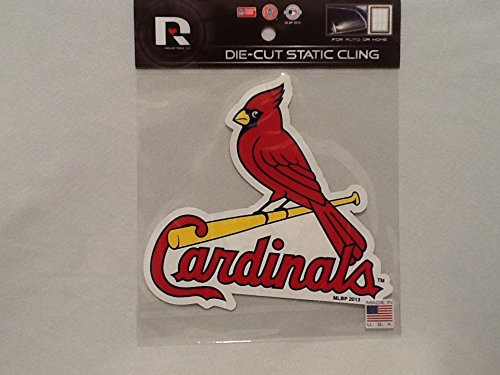 Rico St. Louis Cardinals Die Cut Static Cling Window Decal MLB