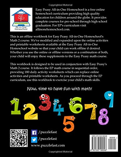 EP Math 2 Workbook: Part of the Easy Peasy All-in-One Homeschool ...