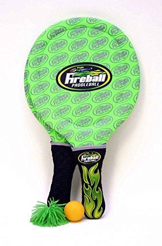 Fun Gripper Fireball Paddleball Set - Green By: Saturnian I