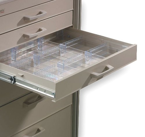 (Metro (InterMetro) / Emerson - MBC113 - Clear Drawer Divider Kit, 2-3/8 Height)