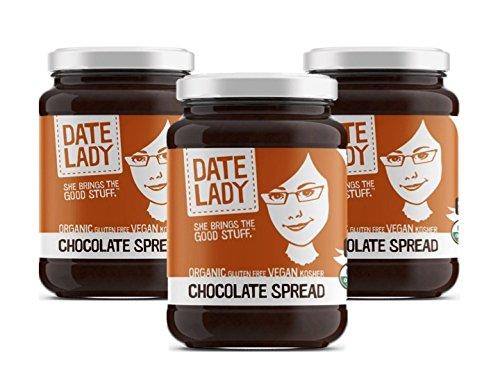 Chocolate Spread, NO HFCS, ORGANIC, VEGAN, GLUTEN-FREE & KOSHER | For Fruit, Ice Cream, Toast (3-pack)