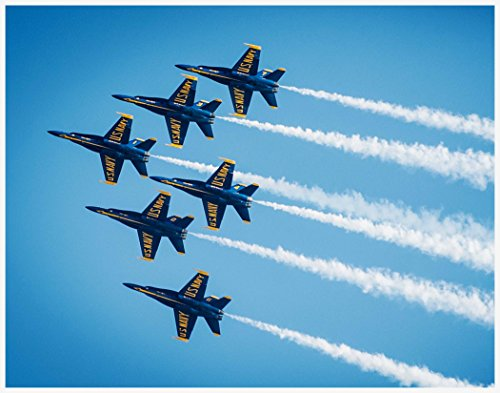 Historic United States Military Photo ~ THE BLUE ANGELS Air Show (8