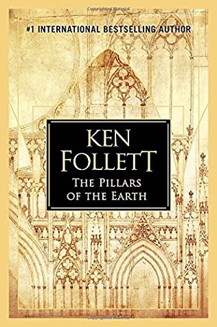 book cover of The Pillars of the Earth