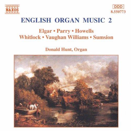 Music Modern Organ - English Organ Music, Vol. 2