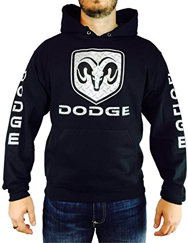 DODGE DIAMOND PLATE HOODIE - Dodge Sweatshirt