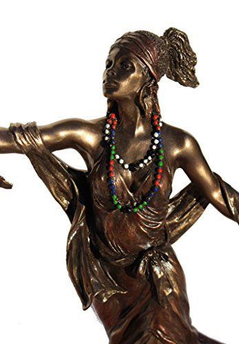 OYA – Goddess of Wind, Storm and Transformation Figurine, Bronze Color