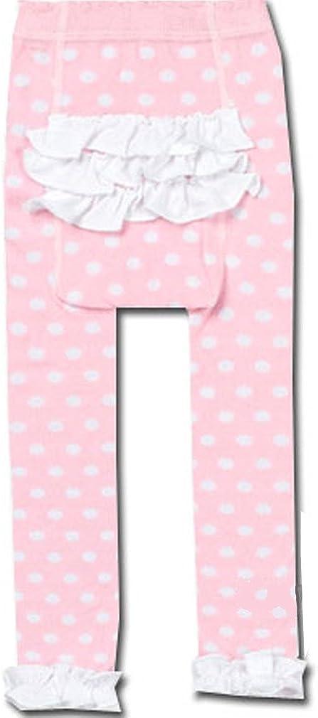 Country Kids Baby Girls Cotton Ruffle Dot Rhumba Capri