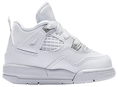wholesale dealer 26742 27ff4 Nike Basket Air Jordan 4 Retro TD Pure Money Bébé - Ref. 308500-100
