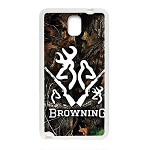 Browning Pattern Plastic Case For Samsung Galaxy Note3