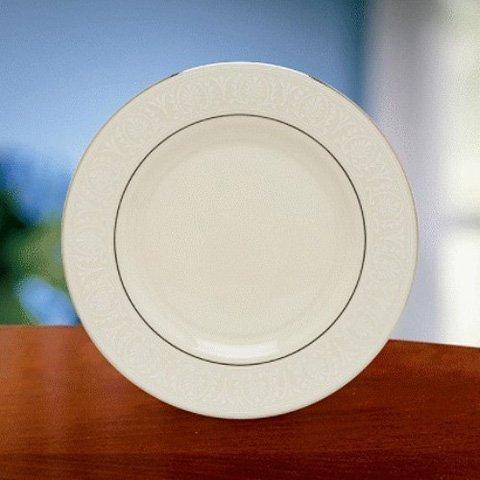 Lenox Courtyard Platinum Ivory China Salad Plate