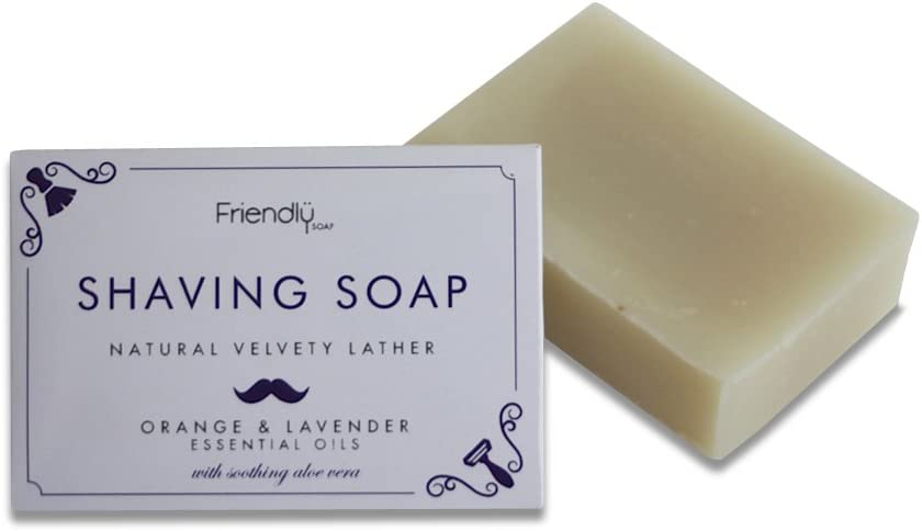 Friendly Soap Natural Handmade Shaving Soap 95g