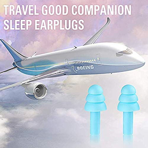 Ear Plugs for Sleeping 2 Pair Silicone Earplugs for Sleeping Snoring Swimming Shooting Noise Cancelling /& Hearing Protection