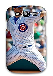 For StJASZl285TiUmL Chicago Cubs Protective Case Cover Skin/galaxy S3 Case Cover
