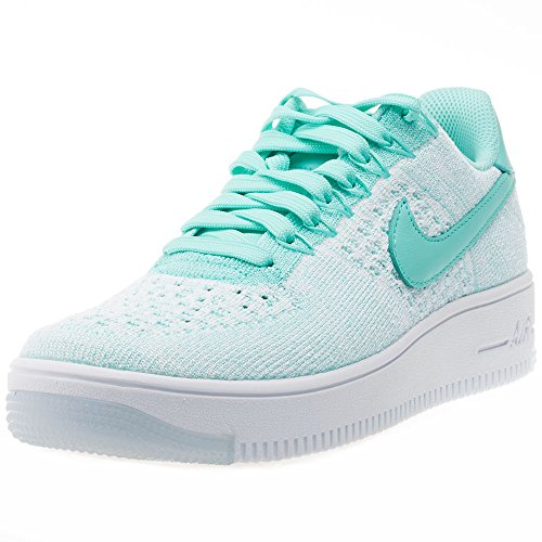 Nike Femmes Af1 Air Force 1 Flyknit Bas Baskets 820256 Sneakers Chaussures (us 5.5, Hyper Turquoise 300)