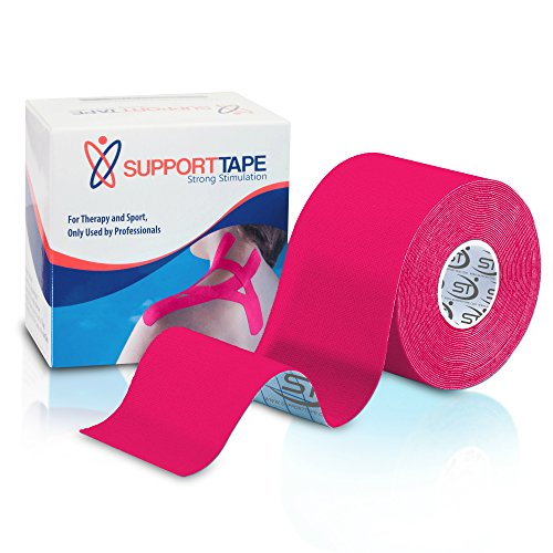 "UPC 638339630799, MediSpor XL Kinesiology Tape for Sport and Therapy Use, 2"" x 20' (Pink), Includes Free Taping Guide"