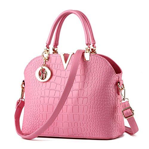 (JHVYF Fashion Cute Lovely Crossbody Bags for Women Girls Mini Handbag Pink)