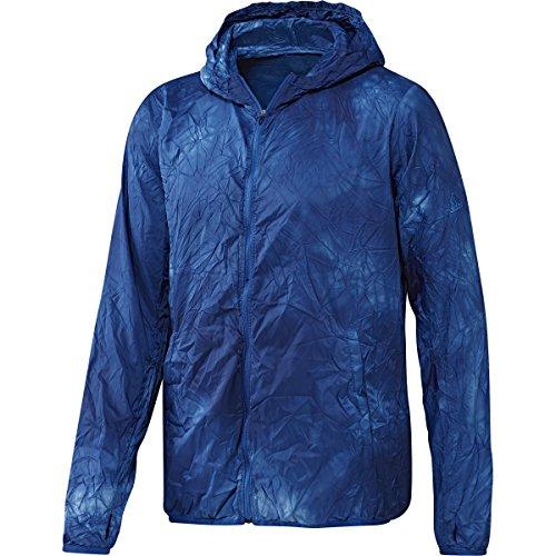 (adidas Men's Running Kanoi Jacket, Large, Collegiate Royal)