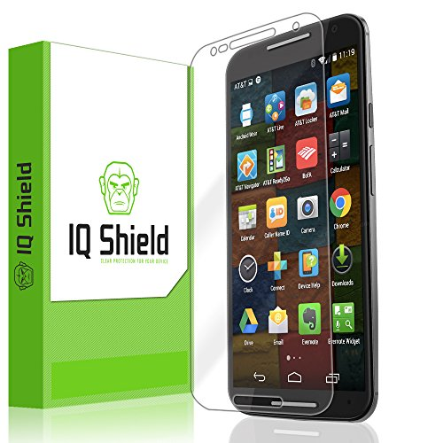 moto x 2014 screen protector wet - 2