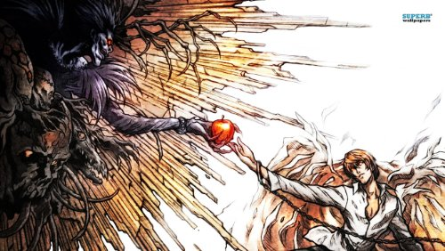 Death Note Angel Playmat (Angels Note Card)
