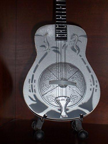 Mini Guitarra Dire Straits Mark Knopfler con resonador pantalla ...