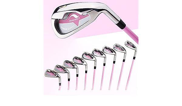 1 Set 7 piezas NUEVO JUEGO DE hierros de golf mujer palos de ...