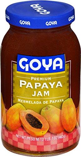 Goya Foods Premium Papaya Jam, 17 Ounce (Pack of 12) by Goya