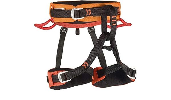 Camp Jasper - Arnés de escalada - naranja/negro 2016: Amazon ...