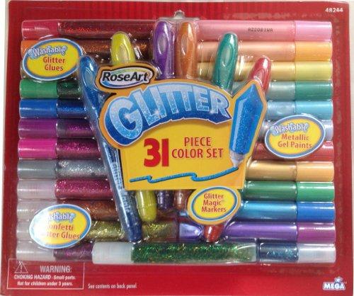 RoseArt Glitter Metallic Confetti Washable