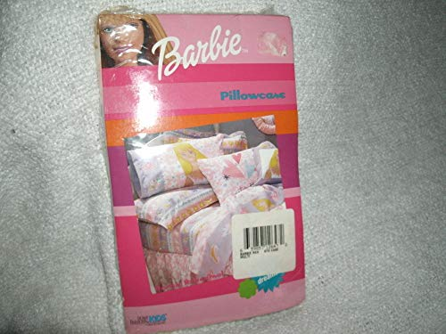 Home Fashions for Kids Barbie Sweet Dreams Standard Pillowcase-Dan River