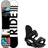 Ride Rapture 147cm Womens Snowboard + Ride LXH Bindings - Fits US Wms Boots Sized: 7,8,9,10