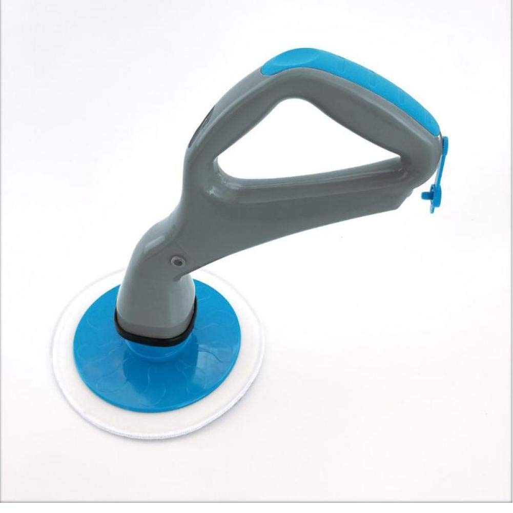 Oulensy 4pcs Set Muscle hurac/án Scrubber el/éctrico Cepillo de Limpieza con el azulejo Cabezas de Cepillo de ba/ño Superficie Ba/ñera Ducha Brush