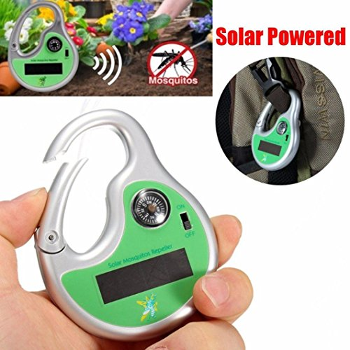 Solar Powered Mosquito Insect Bug Repellent Repeller - 7