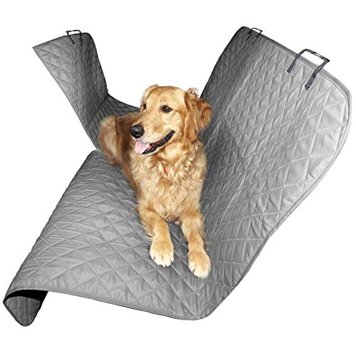 - FurHaven Pet Car Seat Cover | Quilted Hammock-Style, Universal Car Seat Cover Protector, Gray