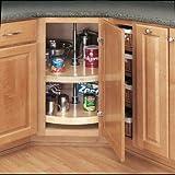 Rev-A-Shelf – 4WLS072-32-52 – 32 in. Wood 2-Shelf Full Circle Lazy Susan Set