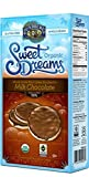 Lundberg Organic Gluten-Free Sweet Dreams Milk Chocolate Rice Cakes - Pack of 3, 3.17 Oz. Ea.