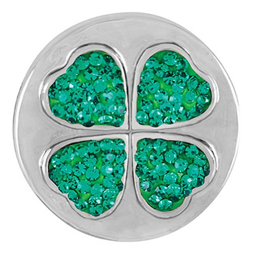 Ginger Snaps SHAMROCK SUGAR SNAP SN32-29 Interchangeable Jewelry Snap ()