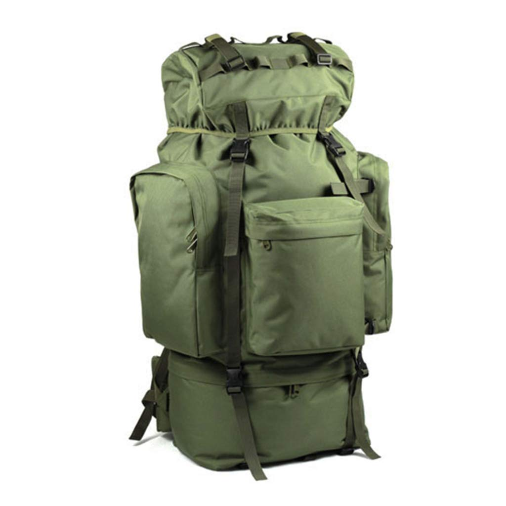 QP Mountaineering Bag - Outdoor Large Capacity 100L Backpack/Cycling Backpack/Backpack (Color : Green)