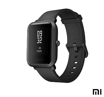 AMAZFIT Bip Xiaomi Montre Connectée Smartwatch | Moniteur de fréquence Cardiaque | Exercice Fitness Montre de