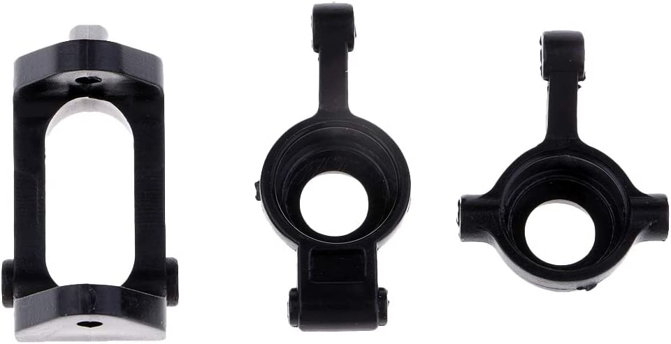 Black Steering Arms Rear Axle /& C Seat for   A959 A969 A979 K929 RC Car