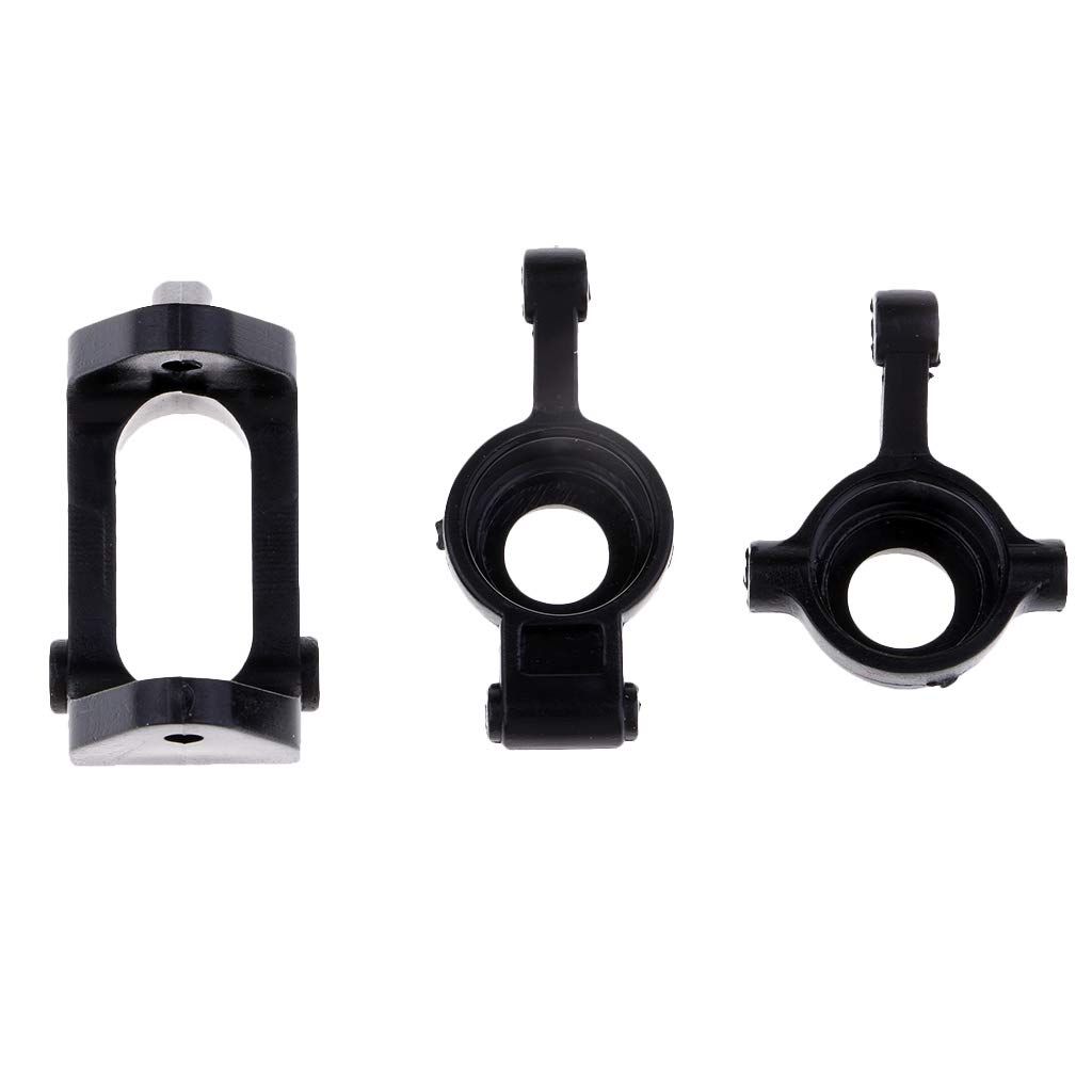 B Blesiya RC Car C-Hub Carrier /& Rear Axle Hub Carrier /& Steering Arm For WLtoys A959 A969 A979 K929