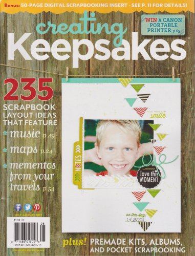 Creating Keepsakes Magazine July/August 2013