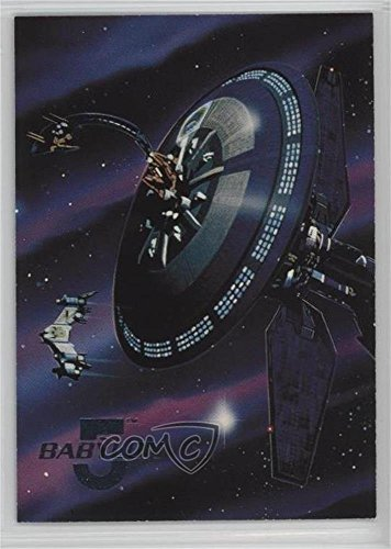 Earth Force One was the… (Trading Card) 1995 Fleer Ultra Babylon 5 - Space Gallery #4