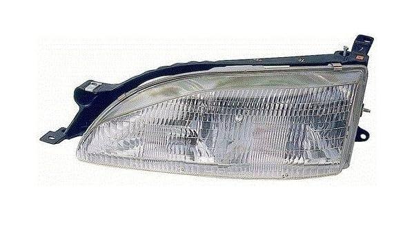 Amazon Com Fits 95 96 Toyota Camry Headlight Driver New Headlamp Front Left Automotive