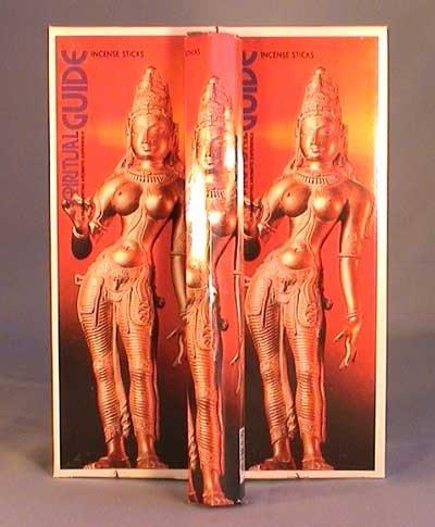 Spiritual Guide – ボックス6つの20グラム六角チューブ – Padmini Incense B001C78084